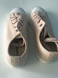 Pair of waterproof peach sneakers size 8 Clarksburg, 20871