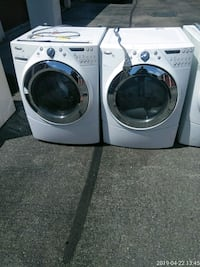 white front load washing machine and dryer Prince George's County, 20746