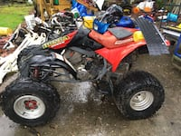 black and red Honda all terrain vehicle Renton, 98059