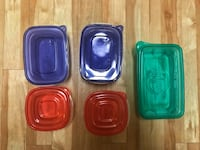 Tupperware various sizes; small to x-large capacity! Houston, 77056