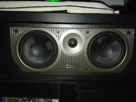 High end Mission centre speaker