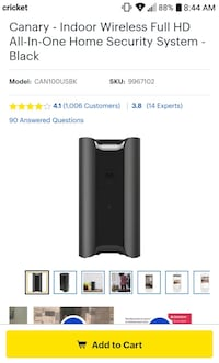 Canary - Indoor Wireless Full HD All-In-One Laredo, 78041