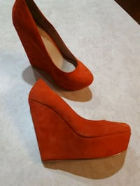 New ALDO wedges genuine suede Breslau, N0B 1M0