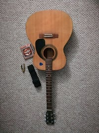 Johnson est 1993 acoustic guitar