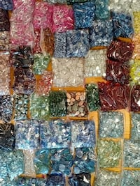Glass Marbles Gems 94 lbs Sherwood, 49089
