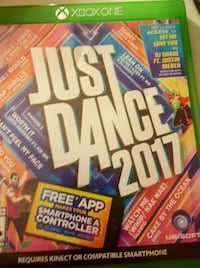 Xbox One Just Dance 2017 case