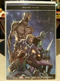 #1 Guardians of the Galaxy comic book Marvel Infinity Wars