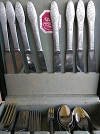 Vintage flatware with case Avon Park, 33825