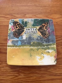 multi color plate with butterfly wings San Francisco, 94133