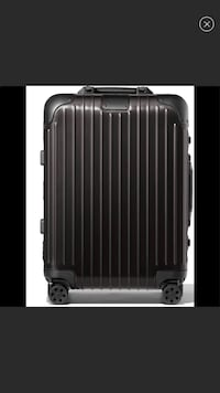 New in box Rimowa 22 in carry on aluminum  Boston, 02210