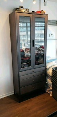 Glass doors + 4 drawer Display Cabinet  Toronto, M6J 0B1