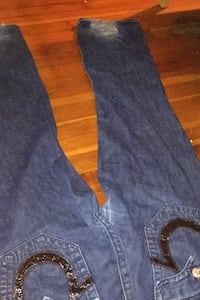 True Religon Brand Jeans For Men * is ripped on back left heel* * Surrey, V3W 3X7