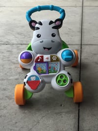 Fisher-Price learn with me zebra walker New Westminster, V3L 4K7