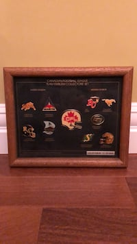 Stunning collectors item! #98 of only 2500 ever made. Over 30 years old! Mint condition CFL collector pins Edmonton, T6R 0B1