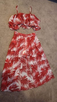 Two-piece Shorts Dress (Large)