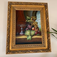 green and brown flower painting Norwalk, 90650