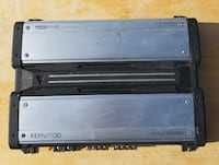 Kenwood KAC-8452 High Quality 4-channel Power Amplifier null