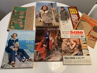 Five 1975 & 1976 Eaton's catalogs - Christmas, Spring, Fall, Winter Toronto, M9B 0A1