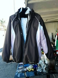 black and gray zip-up jacket Oxnard, 93035