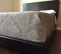 New Black Queen Bed  Silver Spring
