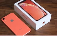 iPhone XR Coral New  Houston