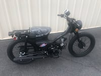 black and gray underbone motorcycle Washington