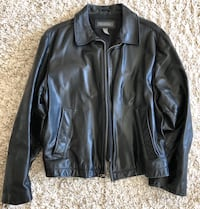 Banana Republic Black Leather Jacket Yonkers, 10701