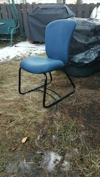 black and gray folding chair 3156 km