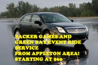 Packers Game & Events Ride Service Appleton