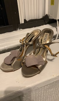 Badgley Mischka Heels Sz 7 1/2 New York, 10031