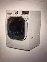 LG 4.3-cu ft Ventless Combination Washer and Dryer with Steam Cycle (White) ENERGY STAR. Columbus, 43202