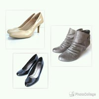 Ladies size 7 shoes.  Worn only once or twice.