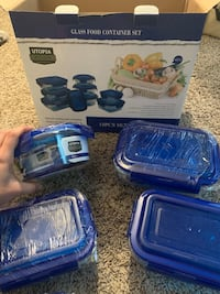 Glass food container set Chicago, 60601