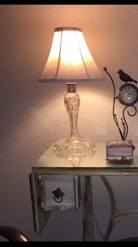 Antique lead crystal lamp Los Angeles, 90731