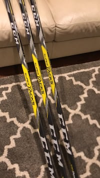 Super tacks (right) hockey sticks 85 flex Crosby  Oakville