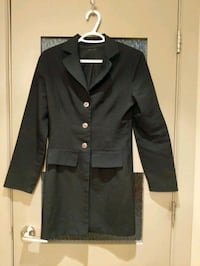 Black long blazer size small