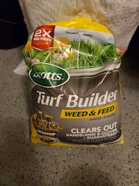 Scott's Weed and Feed 14lb bag