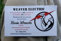 Electrical installs and service calls Robertsdale