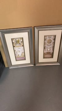 two brown wooden photo frames 31 km