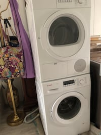 Bosch washer & dryer Stamford, 06902