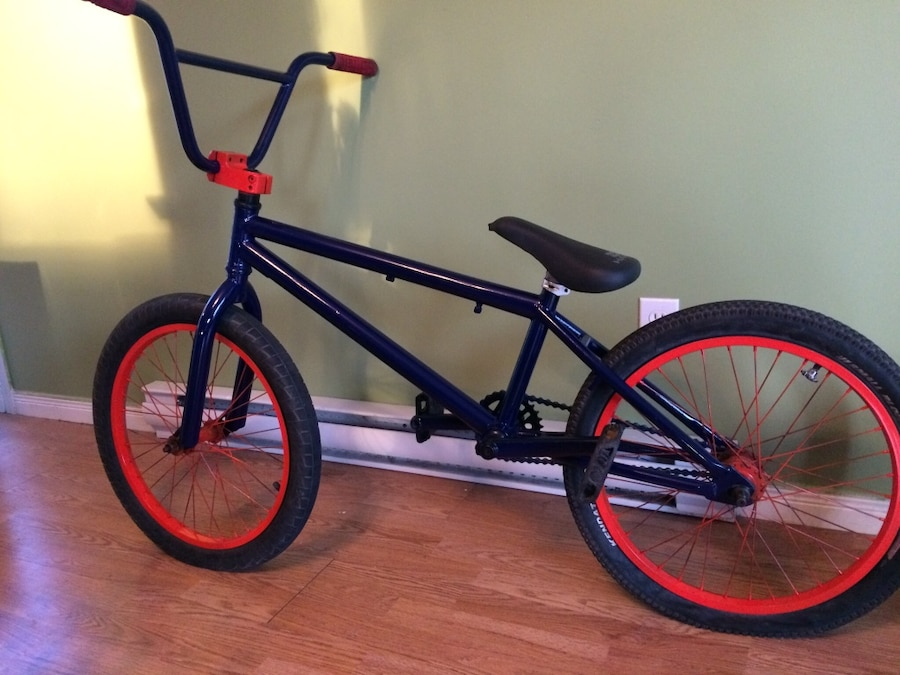 black and red BMX bike - Canada