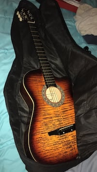 brown and red classical guitar Courtice, L1E 1Y2
