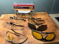 Safety glasses 7 pairs They gotta go, taking up space Toronto, M5A 1A4