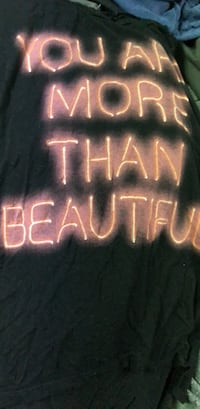 You are more than beautiful elongated tank top Middletown, 06457