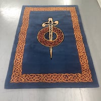 Celtic Irish Rug Hand Tufted Houston, 77064