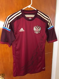 Russia POCCNR Soccer Jersey adidas College Park, 20740