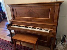 Antique Bush and Gerts piano