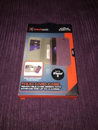 Purple iPhone Case with credit card holders Chattanooga, 37421