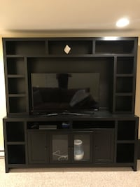 Entertainment Center (Real Wood) Comes in two pieces Paid Jordan's 2,000 for Entertainment Center- asking 1000 as a bonus TV and new Dart Board inclu Cranston, 02920