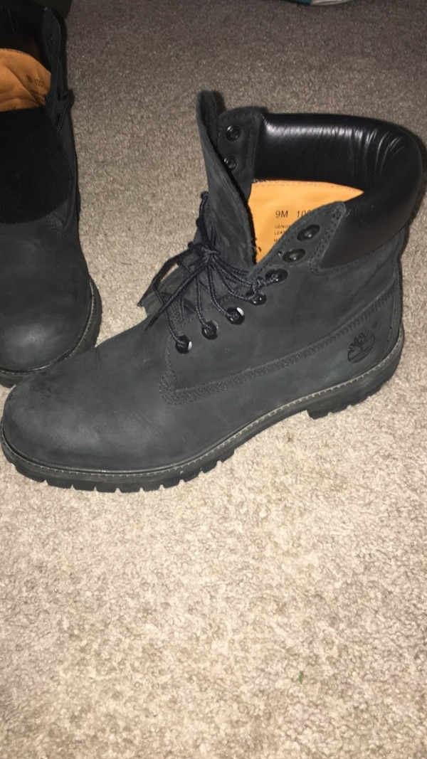 Used Black timbs size 9 for sale in Walker - letgo 016cf7be5